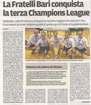 La F.lli Bari conquista la terza Champions League